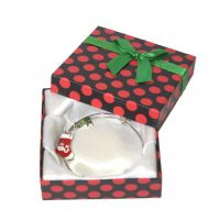 Holiday Charm Bracelet in Polka Dot Box - Jewelry Novelties - Prizes & Novelties