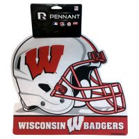 Wisconsin Badgers Helmet Pennant - Sports Team Logo Prizes - Prizes & Novelties